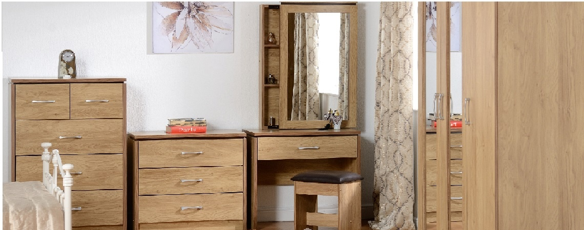Corona White Bedroom Furniture