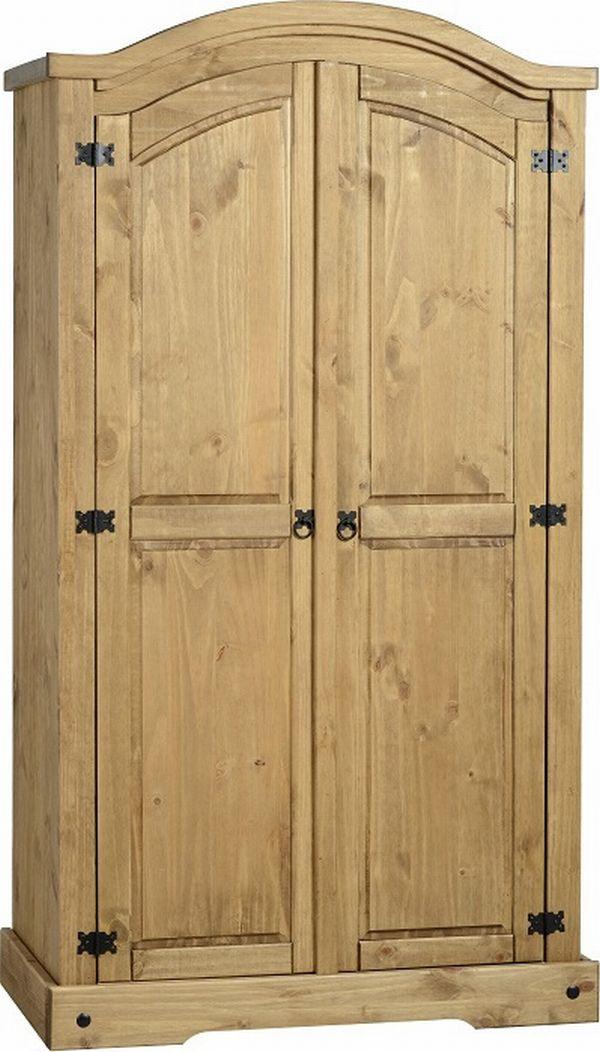 new styles 992e4 891ac Corona 2 Door Wardrobe from www.stockclearancecompany.co.uk